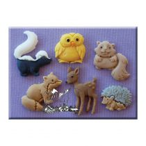 Alphabet Moulds - Forest Animals