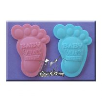 Alphabet Moulds - Baby Shower Feet
