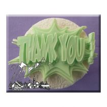 Alphabet Moulds - Thank You
