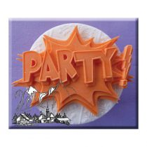 Alphabet Moulds - Party