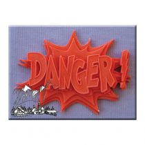 Alphabet Moulds - Danger