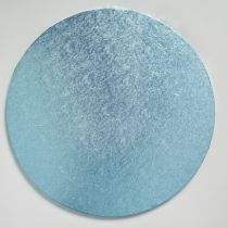 "12"" (304mm) Cake Board Round Light Blue - single"