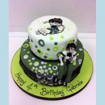 Ben 10 Two Tier Cake (503)