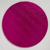 "14"" (355mm) Cake Board Round Cerise - single"