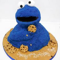 Cookie Monster Cake (510)