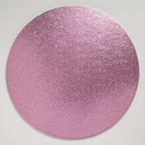"10"" (254mm) Cake Board Round Light Pink - single"