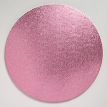 "12"" (304mm) Cake Board Round Light Pink - single"