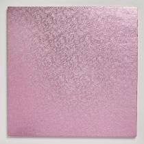 "10"" (254mm) Cake Board Square Light Pink - single"