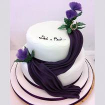 Purple Two Tier