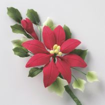 Poinsettia Spray - 110mm