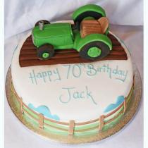 Tractor Cake (491)