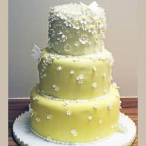 Yellow Daisy Cake (117)