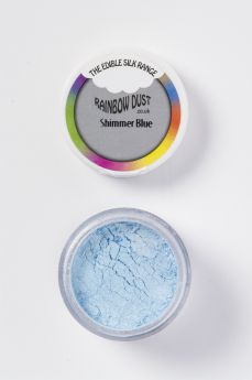 Rainbow Dust Edible Silk Range - Shimmer Blue - Retail Packed