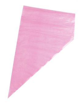 Disposable Non-Slip Pink Bag - 533mm (21