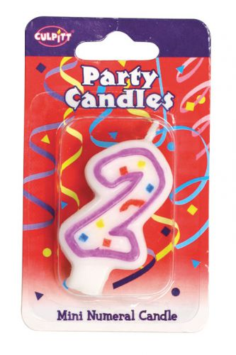 Mini Party Candle '2'