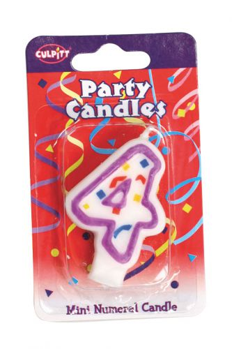 Mini Party Candle '4'
