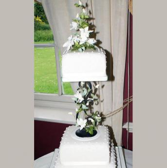 Orchid Wedding Cake (064)