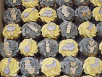 Christening Cup Cakes
