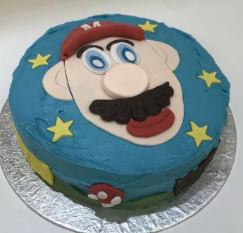 Mario Cake class for children