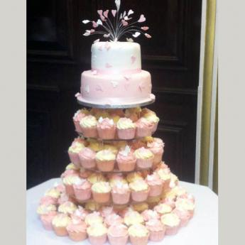 Two Tier Cup Cake (099)