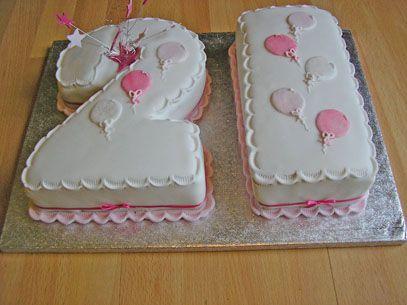 Number 21 Cake Sugar N Spice Cakes
