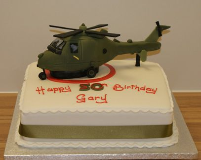 Helicopter Cake Sugar N Spice Cakes