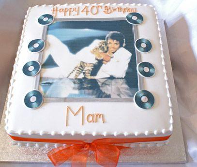 Tremendous Michael Jackson Sugar N Spice Cakes Funny Birthday Cards Online Hetedamsfinfo